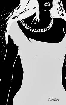 White Pearls by Darlene Watson