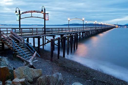 White Rock Pier by Scott Holmes