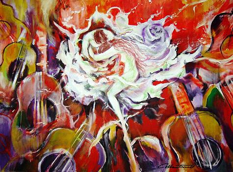 White rose by Ivan Bogoev