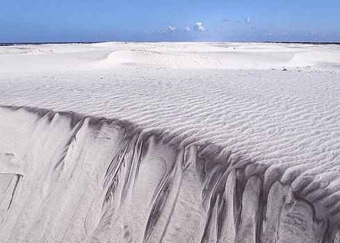 White sand by Frits Selier