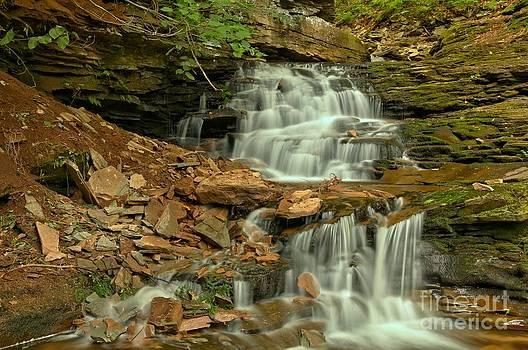 Adam Jewell - White Streams Over Brown Rocks