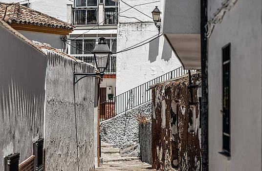 Jenny Rainbow - White Streets of Ronda. Andalusia. Spain