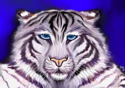 Nick Gustafson - White Tiger
