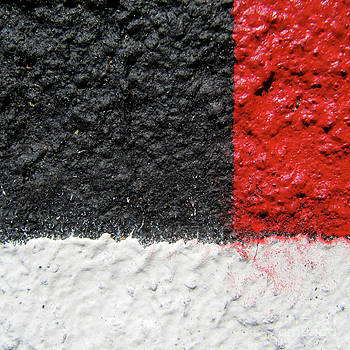White Versus Black Over Red by CML Brown