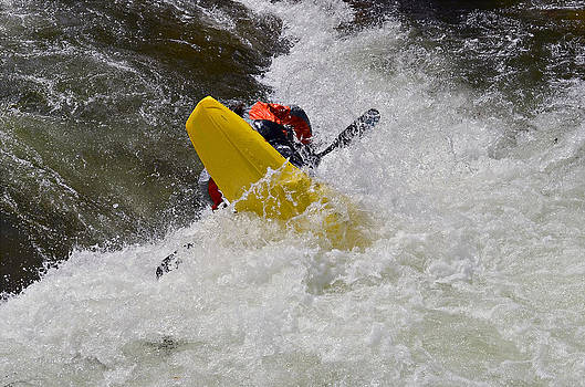 White Water Kayaking by Susan Leggett