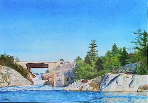 Whitefish Falls by Kathy Dolan