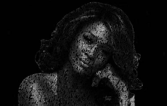 Whitney Houston by Justo Terez Jr