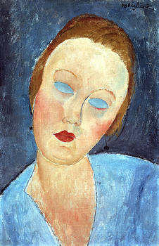 Amedeo Modigliani - Wife of the Painter Survage