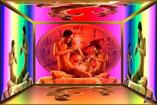 Wifes Clock by Helmut Rottler