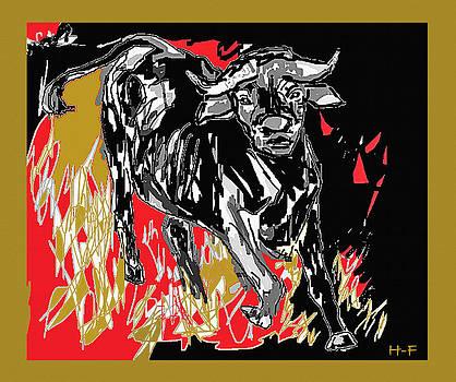 Wild Bull by Herbert French