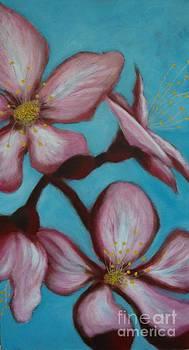 Wild cherries II by Lisbet Damgaard