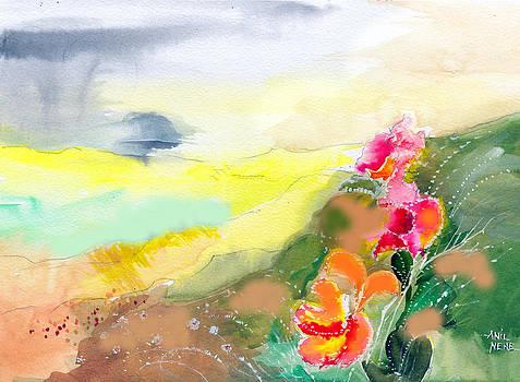 Wild Flowers by Anil Nene