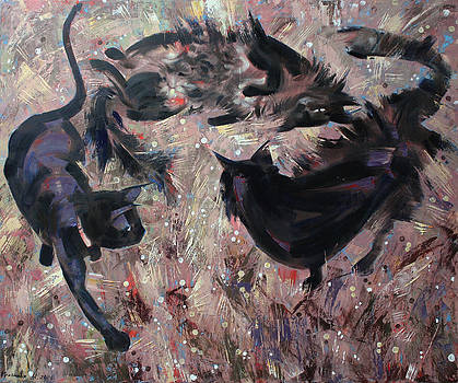 Wild grasses  by Anastasija Kraineva