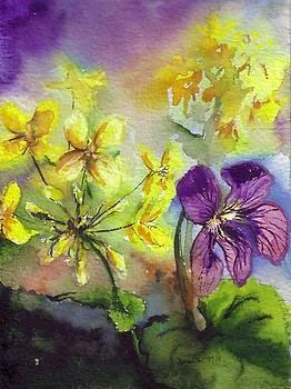 Wild Violet by Bonnie Fernandez