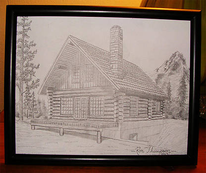 Wilderness Home by Ron Thompson