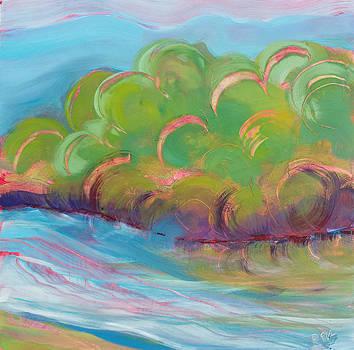 Willamette River 33 by Pam Van Londen