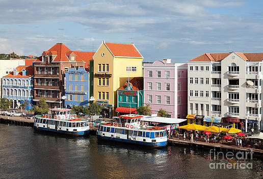 Willemstad Waterfront - Curacao by Carol Barrington