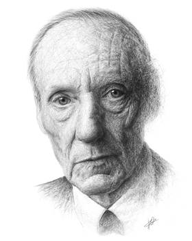 William S. Burroughs by Christian Klute