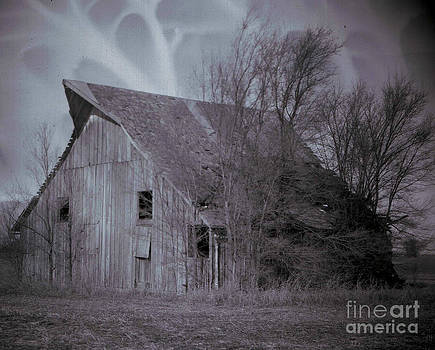 Winchester Barn by C E Dyer