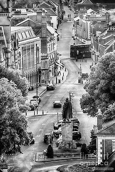 Simon Bratt Photography LRPS - Winchester UK city view BW