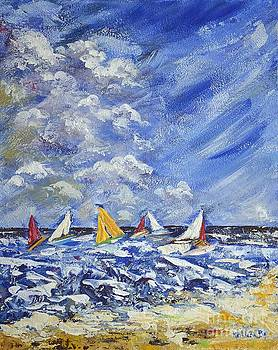 Wind and Sails by Kathleen Pio