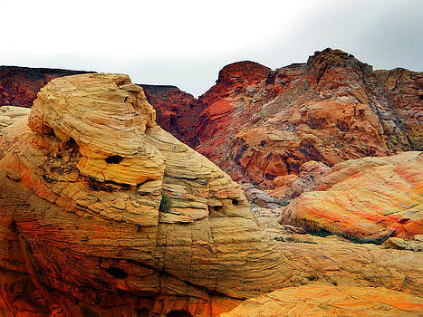 Frank Wilson - Wind Sculpted Rock Formations