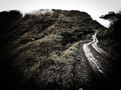 Winding Sky Trails by Tyler Lucas