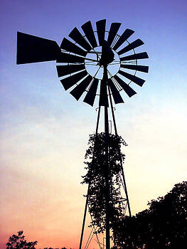 Marilyn Hunt - Windmill Silhouette