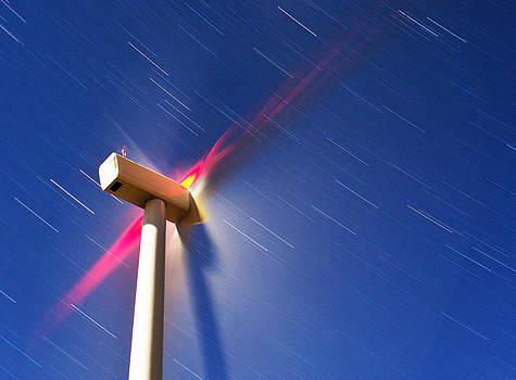 Windmill Sky swirl by Scott Logel