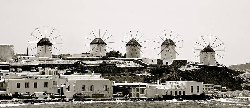 Corinne Rhode - Windmills of Mykonos