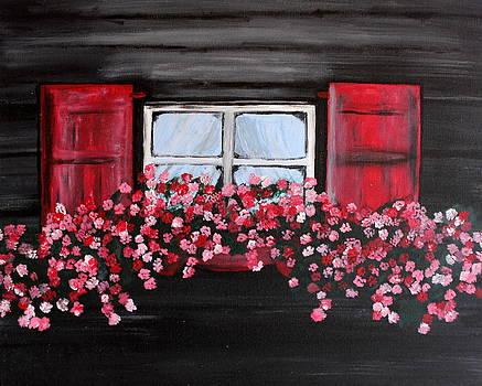 Window Box by Vicki Kennedy