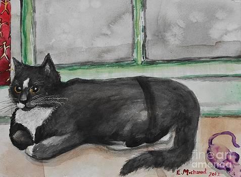 Window Cat by Emily Michaud