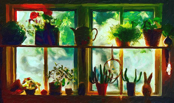 Window In The Sky by Patricia Greer