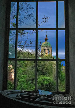 Window by Mount Athos