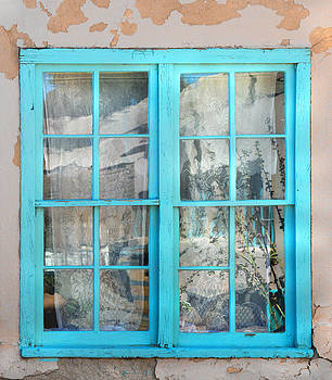 Window Reflection at Kit Carson Home and Museum by Donna Haggerty