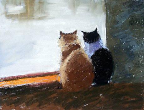 Window Watching by Lenore Gaudet