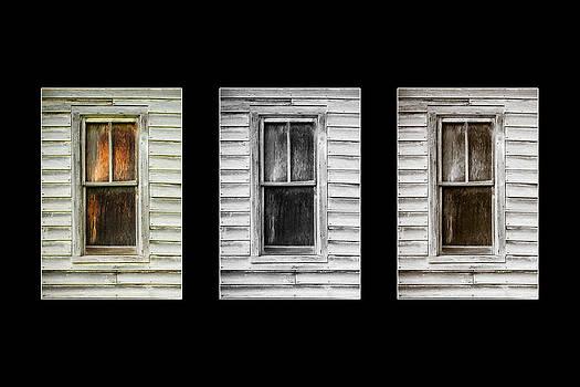 Windows Black by Paul Bartoszek