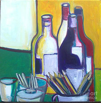 Wine and colors by Tali Farchi
