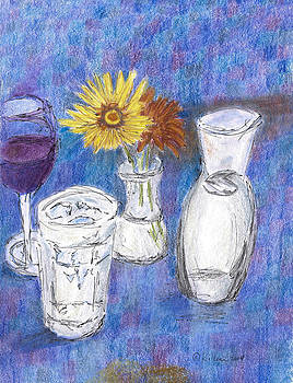 Wine and Flowers by William Killen