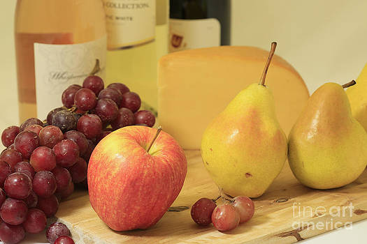 Wine and Fruit by Don Fleming