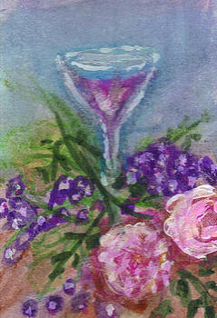 Wine and Roses by Debbie Wassmann