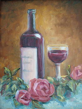 Wine and Roses by Holly LaDue Ulrich