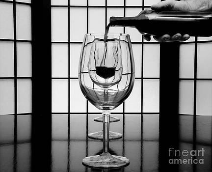 Wine for Three 2 by John Debar