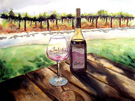 Wine Tasting by Candy Yu