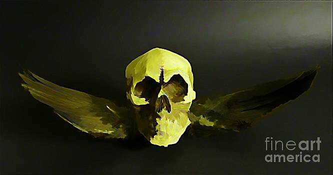 John Malone - Winged Skull Two
