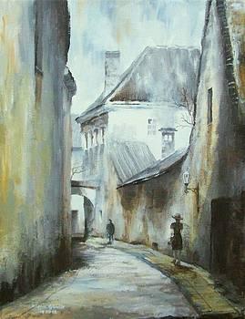 Winter Alley II by Milena Gawlik