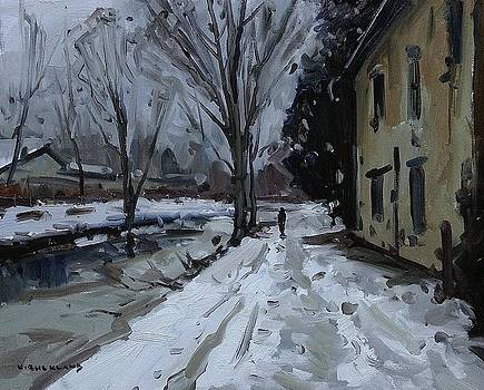 Winter Along the Tow Path by Kyle Buckland