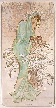 Alphonse Marie Mucha - Winter