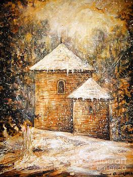 Winter Angel by Dariusz Orszulik