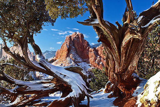 Winter At Garden Of The Gods by Bruce Hamel